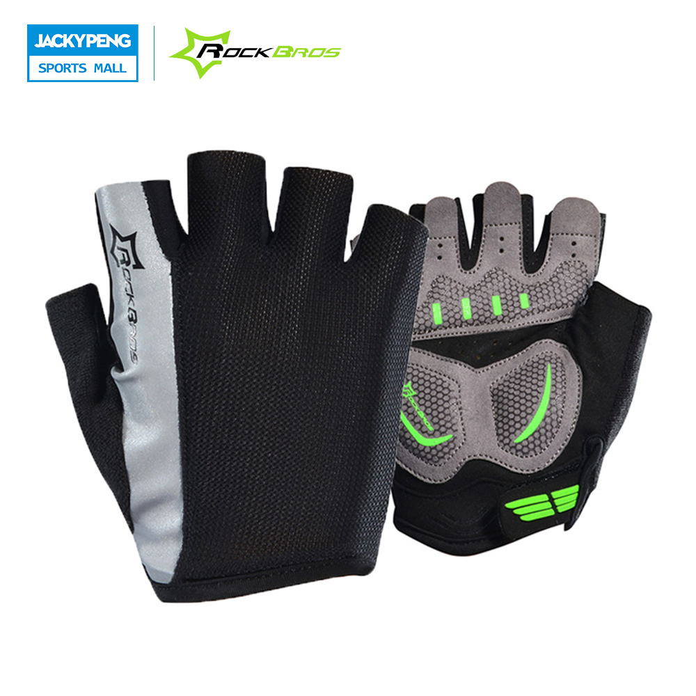 Mens gloves sports direct - Rockbros Men Brand Factory Direct Sales Mountain Bike Cycling Riding Gloves Motorcycle Sports Road Bicycle Mtb