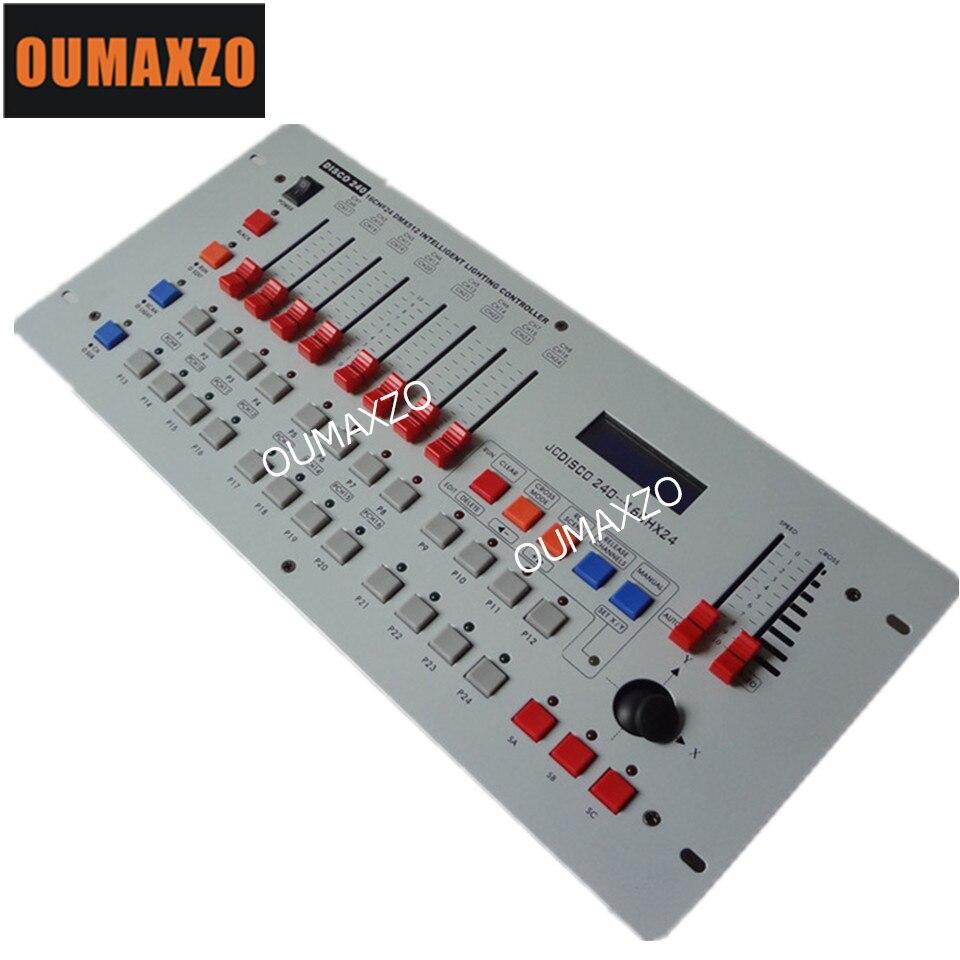 luzes do estagio de controle dmx 240 controlador consoles dj dmx 512 controlador de equipamentos