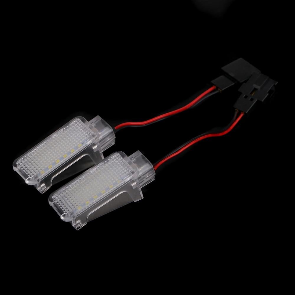 2 kom LED svjetiljka za dobrodošlicu u unutrašnjosti, svjetiljka - Svjetla automobila - Foto 3