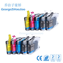 10X Ink Cartridge LC12 LC40 LC71 LC73 LC75 LC1220 LC1240 For Brother MFC-J432W/MFC-J430W Inkjet Printer