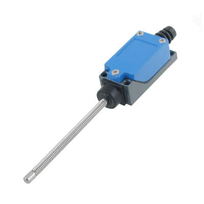 ME-9101 Coil Spring Actuator Enclosed Limit Switch 5A/250VAC 0.4A/115VDC tz 8169 no nc flexible coil spring actuator limit switch for cnc mill plasma