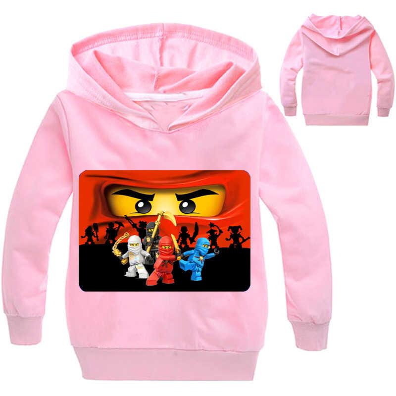 669e72b1 ... Ninja Ninjago Clothes Boys Hoodies Cartoon Ninjago Costumes Children T  shirts Kids Sweatshirts For Boys Kids ...