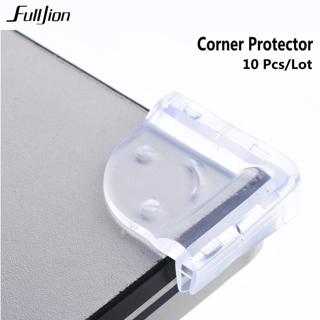 10 pcs Baby Safety Corner Silica Edge Corner Guards Soft Collision Angle corner protector seguridad  protection for  children