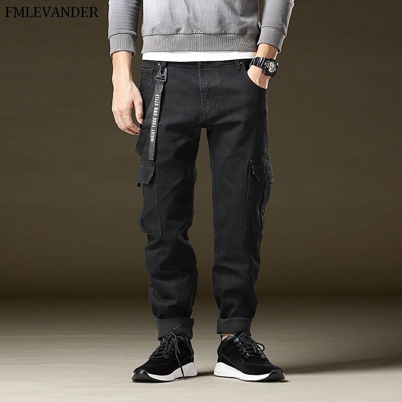 High Quality Fashion Casual Hip Hop Jean Pants Men Autumn Winter Trousers Plus Size 48 Pants Male
