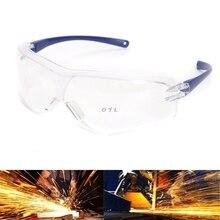 עבודה בטיחות מגן משקפיים אנטי להתיז רוח אבק הוכחת משקפי עין מגן