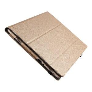 Image 3 - Dla Lenovo Miix 510 Case Ideapad MIIX 5 ochronne etui do smartfona Faux Leather Tablet Miix5 pokrowiec ze sztucznej skóry MIIX510 rękaw pokrowca