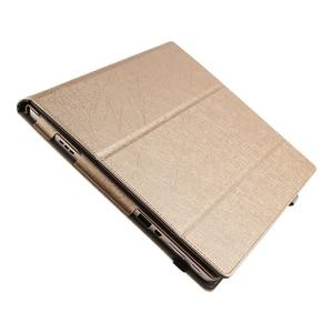 Image 3 - Für Lenovo Miix 510 Fall Ideapad MIIX 5 Schutz Intelligente abdeckung Kunstleder Tablet Miix5 Pu schutzfolie MIIX510 Hülle