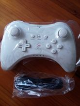 New Bluetooth White Classic Wireless Gamepad Controller For Nintendo Wii/ U Pro