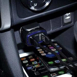 Image 3 - 빠른 충전 3.0 자동차 충전기 5 v 3.5a qc3.0 pd usb 유형 c 빠른 충전 듀얼 자동차 휴대 전화 충전기 아이폰 7 삼성 xiaomi