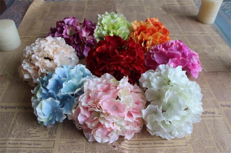 っHydrangea Flower Artificial Flowers Hydrangeas for DIY Wedding ...