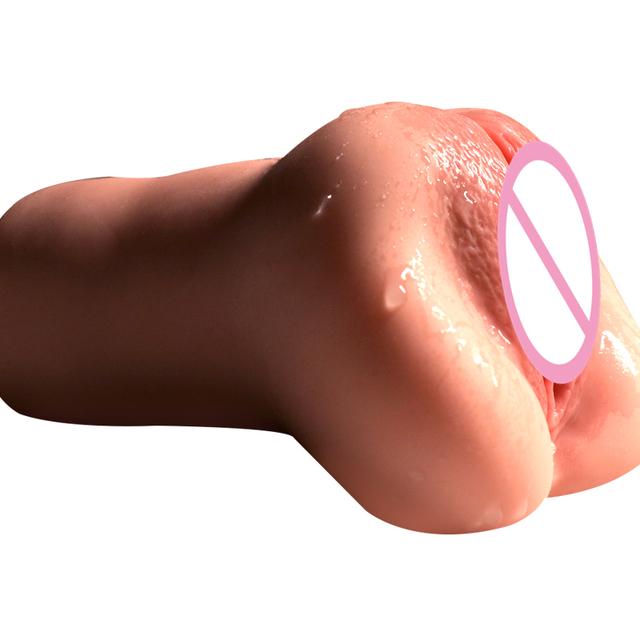 Vagina realista para hombres silicona bolsillo Vagina hombre masturbador sexo Real
