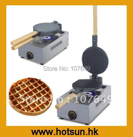 Commercial Use LPG Gas Waffle Maker Maker Machine Iron