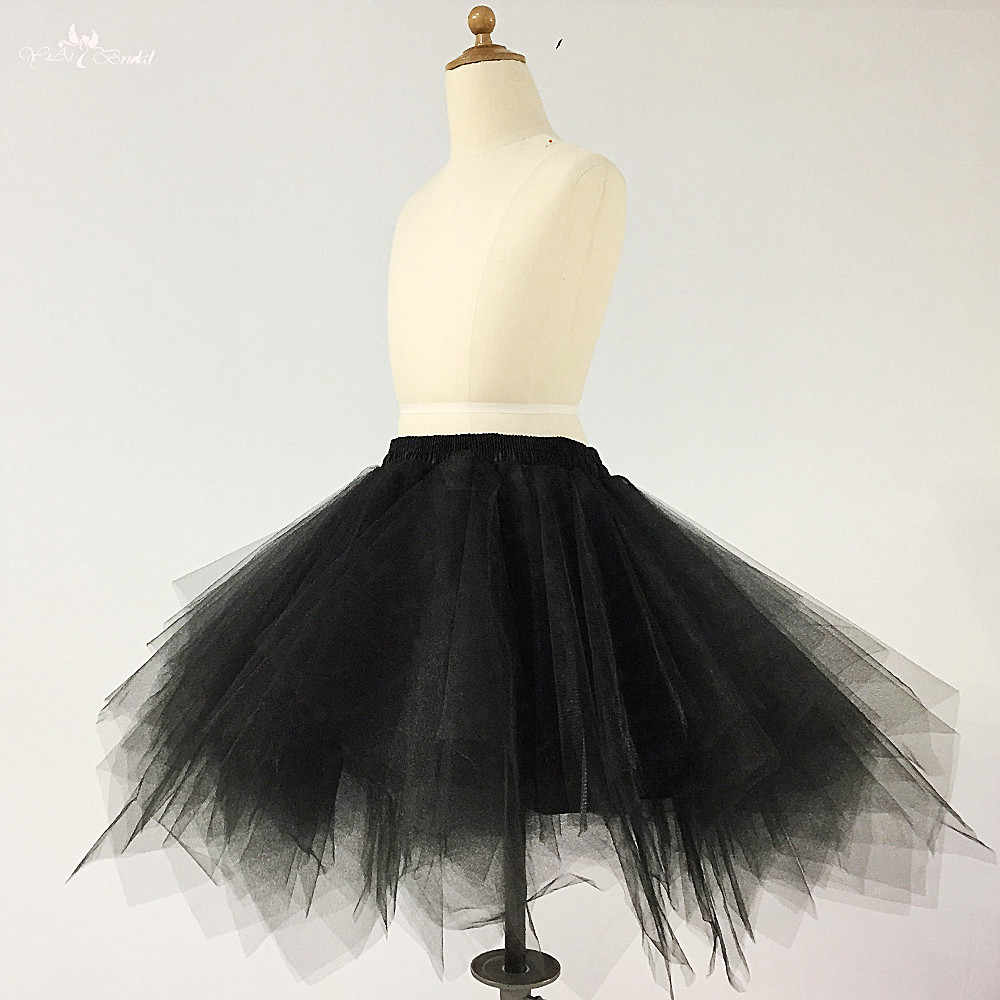 9b4832dc3 RSK8 Adult Women 80's Tutu Skirt Layered Tulle Petticoat Halloween Tutu