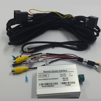 Car Integrated Camera Vehicles Media Multimedia Video Interface For Audi A4 8K 2013 With MMI 3G System Parking Guidelines