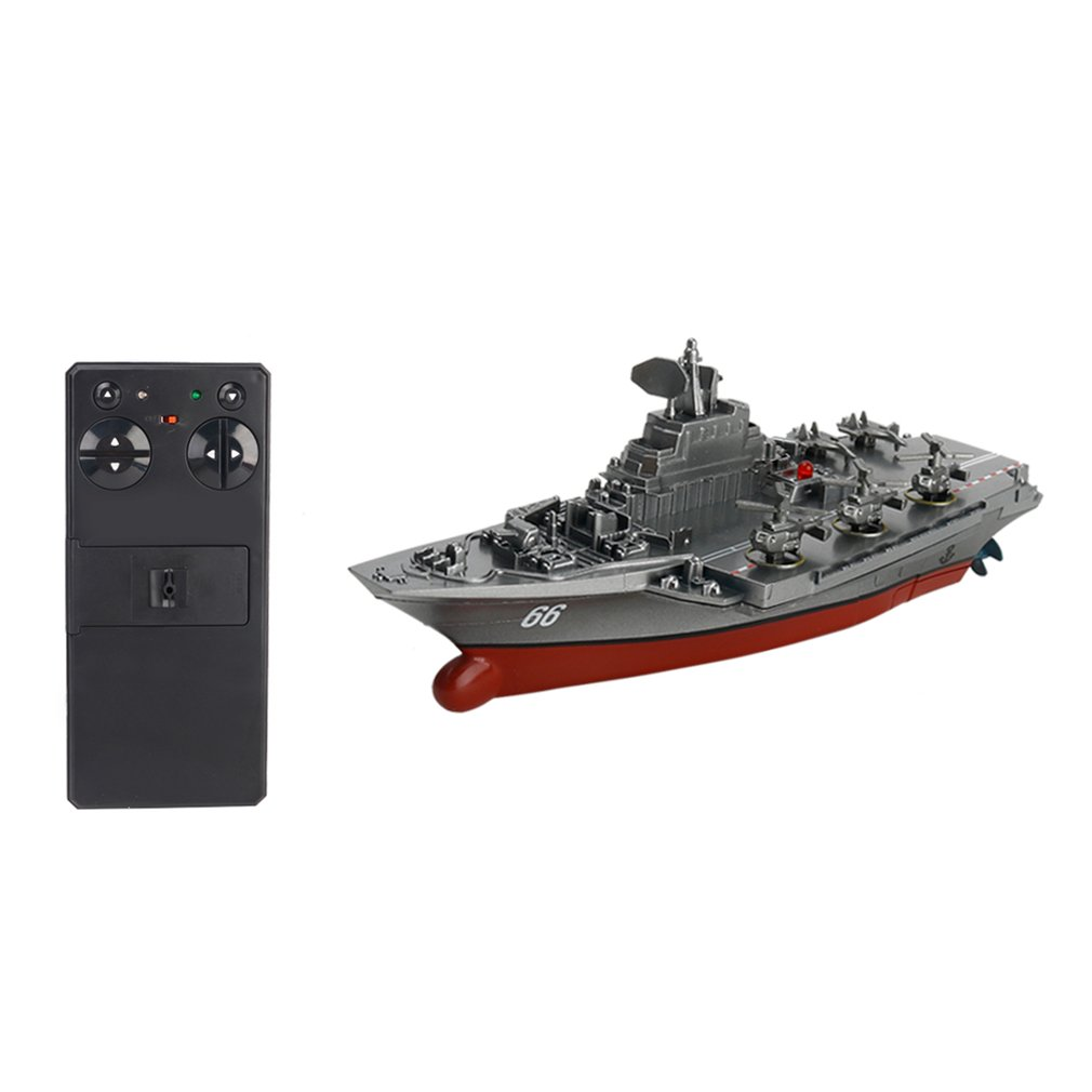 2019 3319 2.4G Remote Control Boat 4 Channel Dual-motor Operation RC Ship Micro Remote Control BoatRadio Controlled Ship