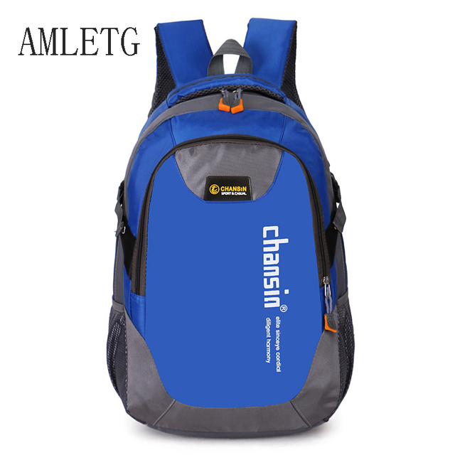 aaee9645fd3 2018 Hot Sell Male Backpacks School Bag Boys for Teenagers Chain Oxford  Waterproof Backpack Men Backpack Casual Nylon Backpacks