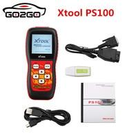 Hot Best Quality 100% Original XTool PS100 Diagnostics Tool XTOOL PS100 PS 100 Code Readers ps100 CANOBDII EOBDII obd2 scanner