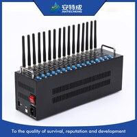 GSM GPRS 16 сим модемный пул, основная gsm модем, основная gsm sms-модем Wavecom Q2303