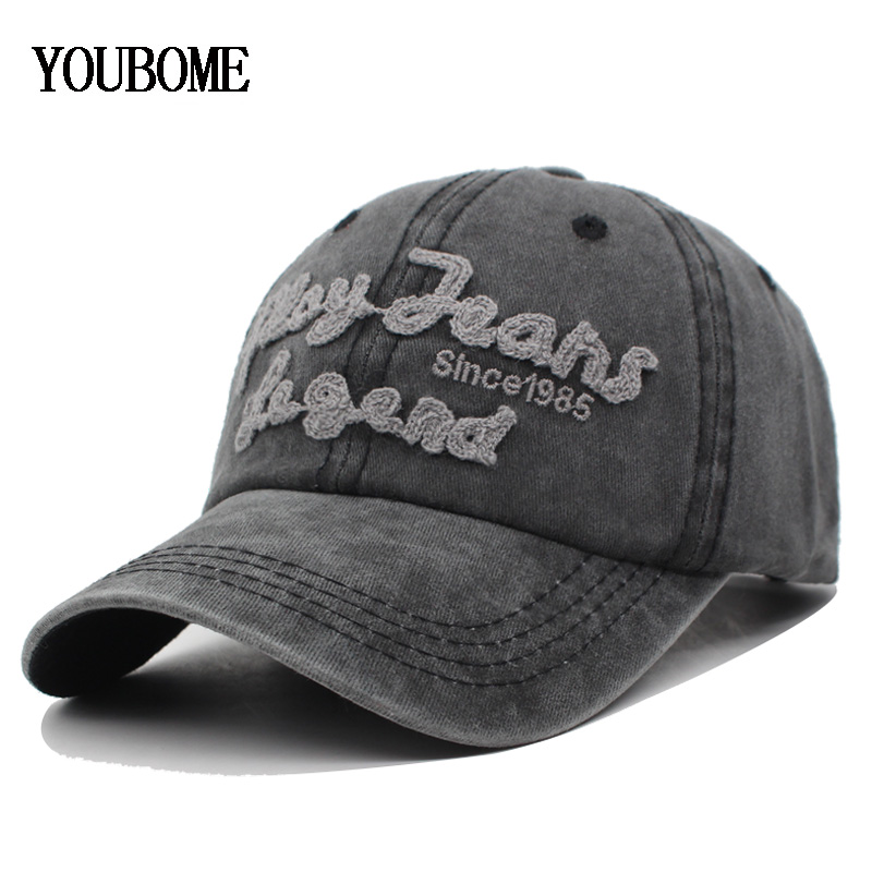 YOUBOME   Baseball     Cap   Men Brand Snapback   Caps   Women Hats For Men Trucker Cotton Embroidery Casquette Bone Letter MaLe Dad   Cap   Hat