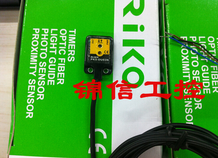 new original PK5-DU03N RIKO photoelectric sensor new original taiwan riko lecroy riko sensor square photoelectric switch r3jk r5kp2 with reflector plate