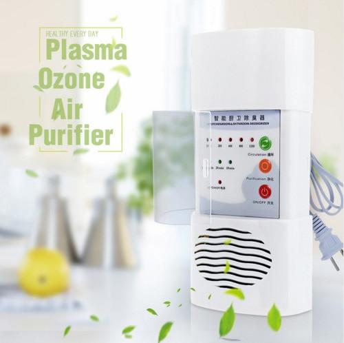 Air Ozonizer Air Purifier Deodorizer Ozone Ionizer Generator Sterilization Germicidal Filter Disinfection Clean For Home ionizer air purifier for home deodorizer ozone generator o3 ionizer fresh air purifiers disinfect germicidal filter air cleaner