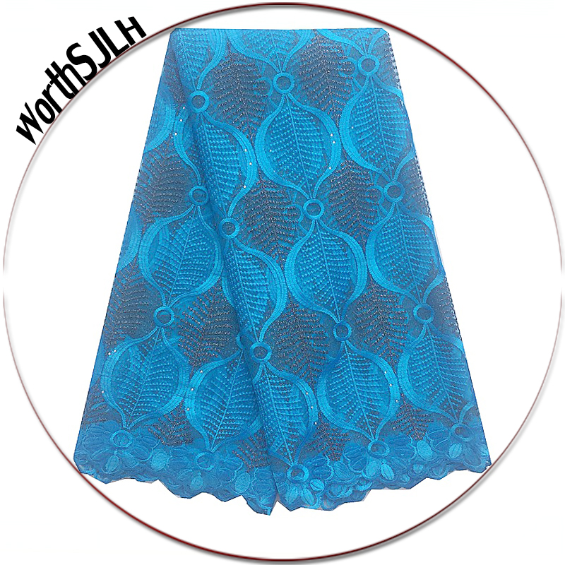 Swiss Latest High Quality African Tulle Lace Fabric 2018 Purple Blue Orange Red Nigerian African French Lace Fabric MaterialSwiss Latest High Quality African Tulle Lace Fabric 2018 Purple Blue Orange Red Nigerian African French Lace Fabric Material
