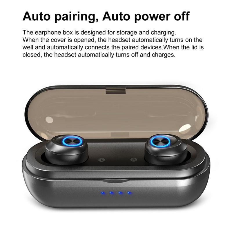 2019 Hot Centechia Auricolare Stereo Senza Fili Impermeabile Mini Sport Auricolare Bluetooth con Ricarica Pod Per DOY