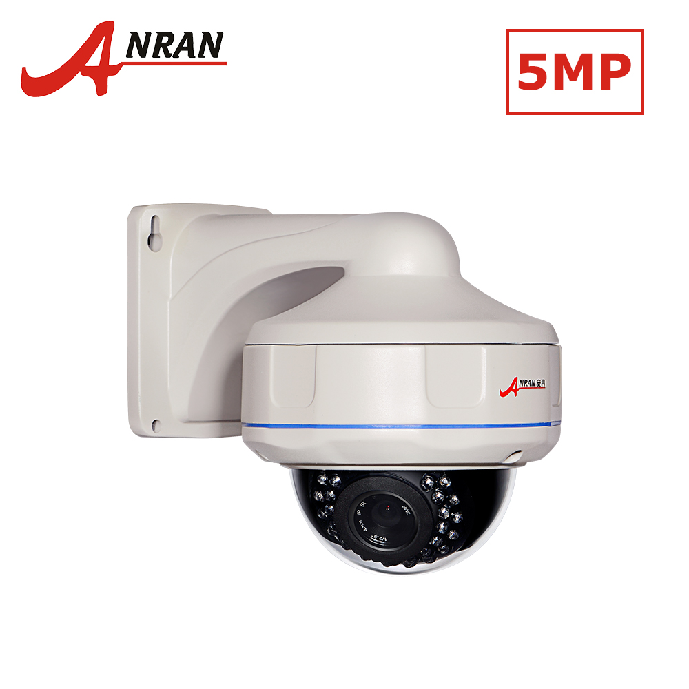 ANRAN H.265 POE IP Security Camera 1920P Full HD CCTV Camera Home Security Surveillance Camera 5MP Dome NightVision IP Camera цепочка на руку sophia