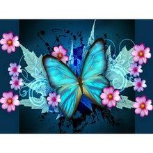 Yikee 5d алмазная живопись полная картина квадратные бабочки