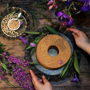 Unique Floral Rim Handcrafted Vintage Metal Tray