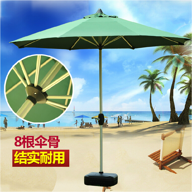 Can Be Printed Logo Outdoor Umbrellas Patio Umbrella Hand Upright Folding Advertising Anti