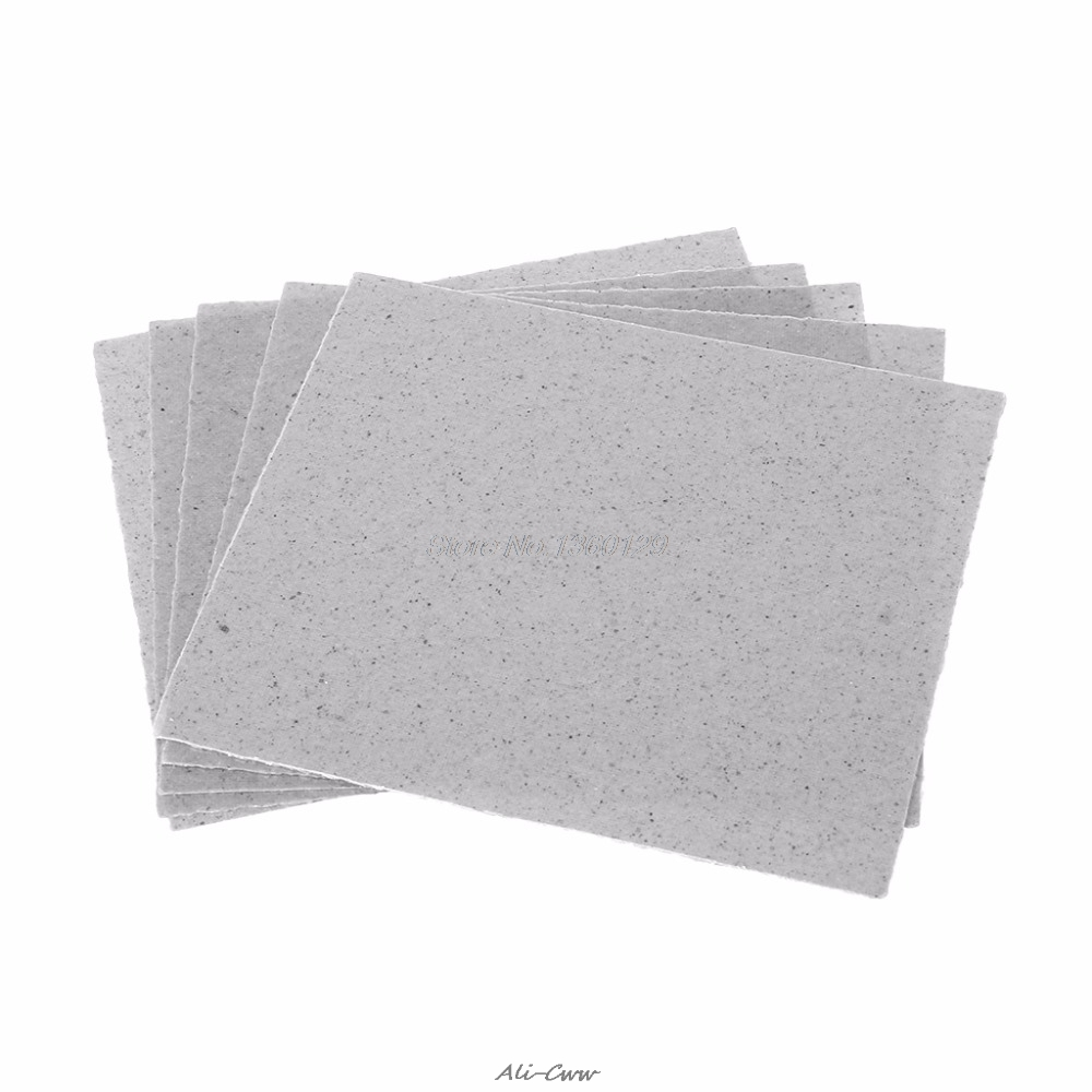 5Pcs Microwave Oven Repairing Part Mica Plates Sheets Tool Parts 12x12cm/4.7x4.7'' AUG_27 Dropship