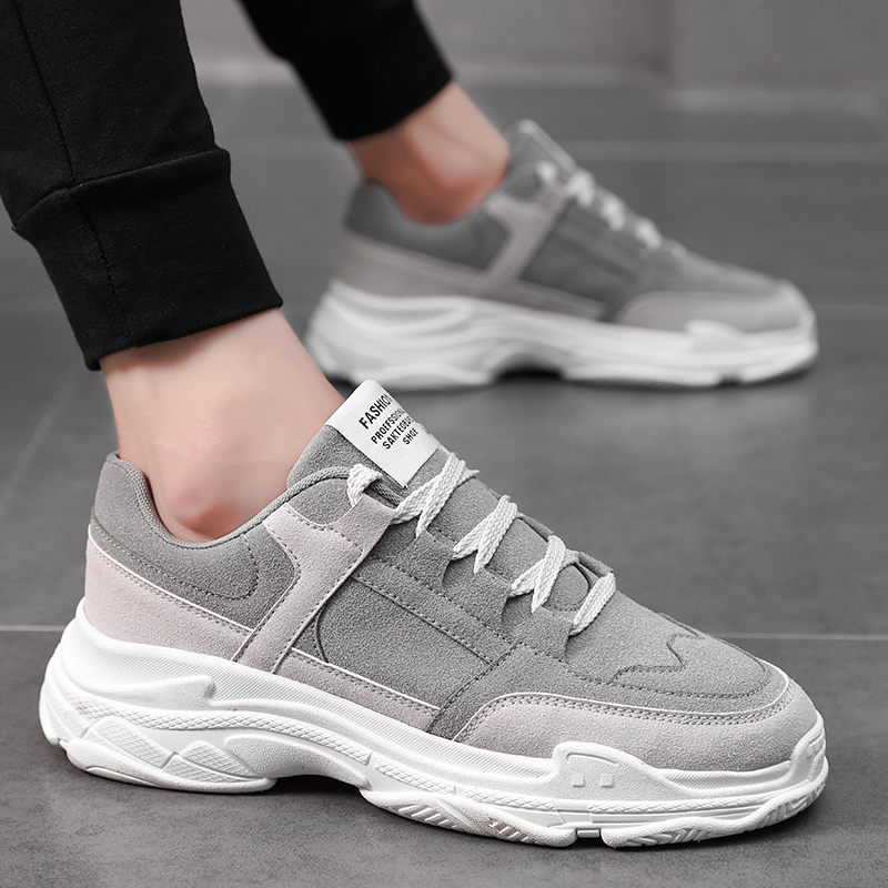 Fashion Sneakers Men Shoes 2019 Spring Fashion Brand Sneakers Men Casual Shoes Thick Sole Male Shoes KA1080Fashion Sneakers Men Shoes 2019 Spring Fashion Brand Sneakers Men Casual Shoes Thick Sole Male Shoes KA1080