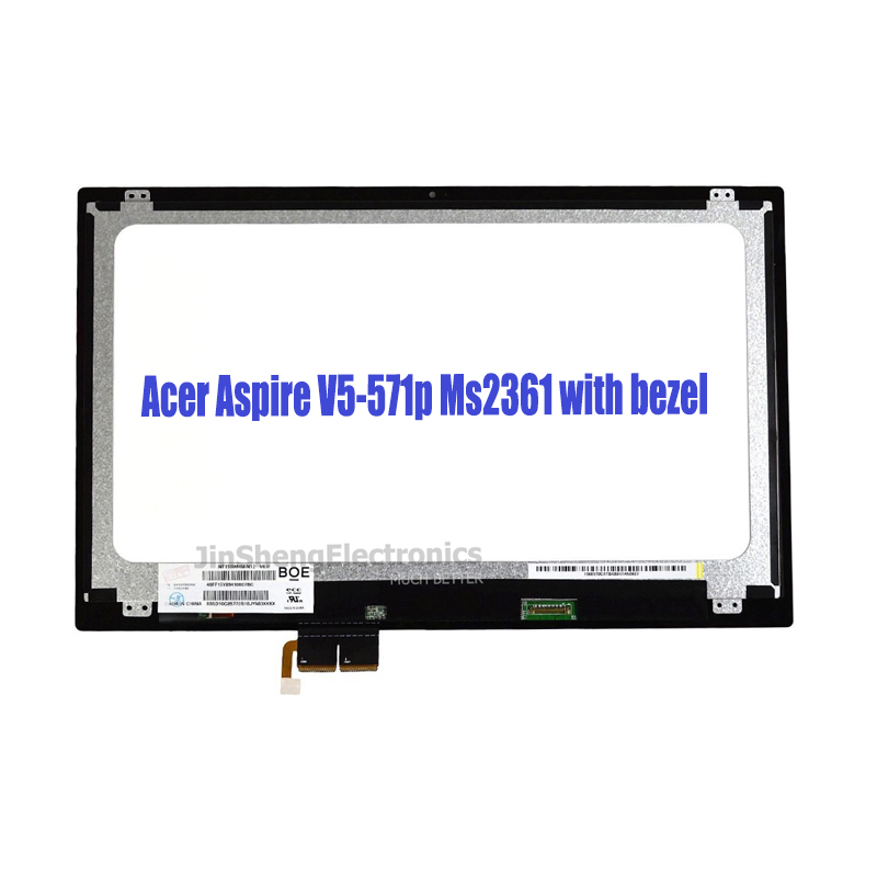 For font b Acer b font Aspire V5 571p Ms2361 with bezel LCD Touch screen Assembly