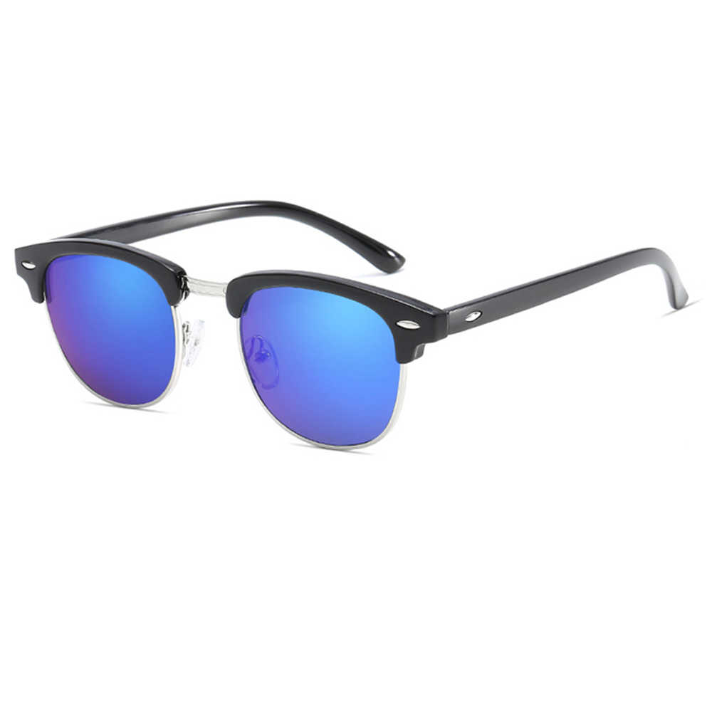 bb2cb29d2b ... KeiKeSweet polarizado remache de moda mujer hombres gafas de sol al  aire libre gafas de sol ...