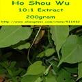 200 gram Хо Шоу Ву (Fo-Ti) Экстракт, Порошок Анти-Старения Здоровья бесплатная доставка