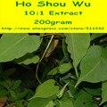 200 gram Ho Shou Wu (Fo-ti) Extract Powder Anti-Envejecimiento de La Salud envío gratis