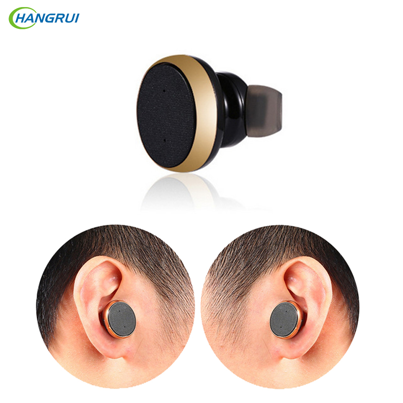 Hangrui stereo headset Bluetooth earphone  mini V4.0 wireless Bluetooth fone de ouvido hand free universal for all phone PK S530
