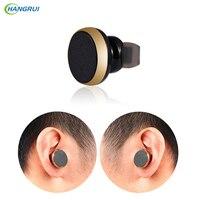 HANGRUI 4 1 Mini In Ear Bluetooth Earphone Bluetooth Headset With Microphone Wireless Stereo Earphone For