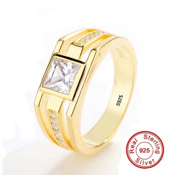 8a4c68fadb73 Anillos de Compromiso de Plata de Ley 925 para mujeres Birthstone grabado  nombre corazón anillo de boda regalo de aniversario (joyería RI101781)