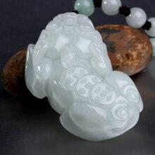 Natural crystal aventurine jade pi xiu pendant accessories male Women mascot