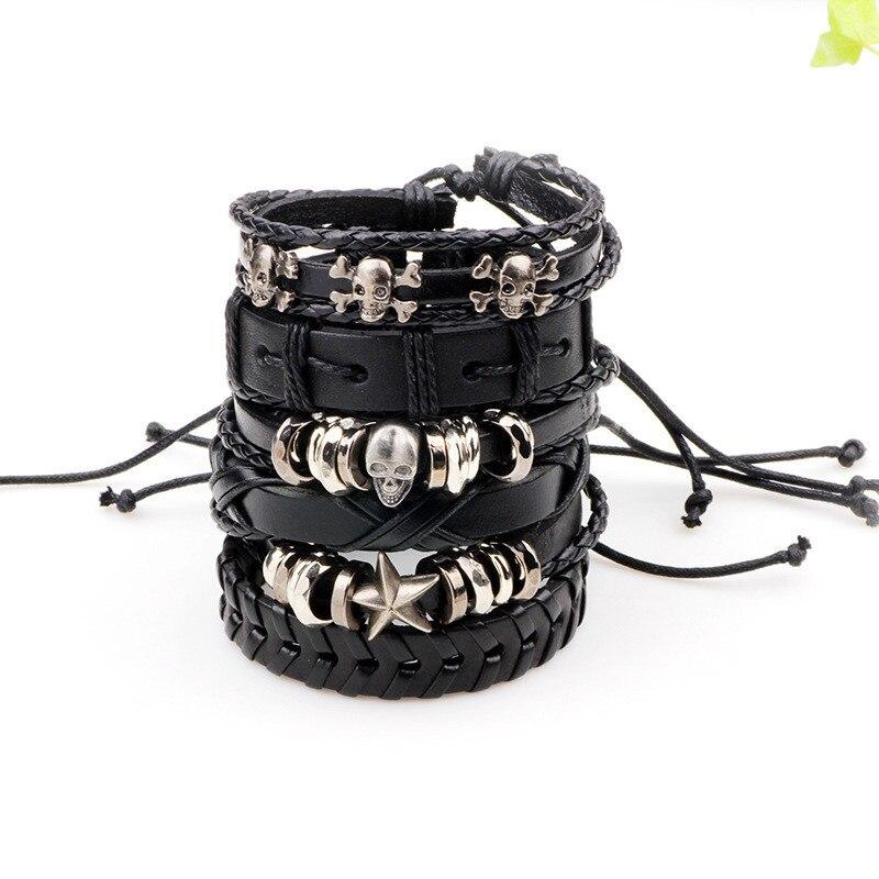 xinyao 6 шт./комп. черный браслет пос