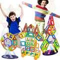 108PCS Mini Magnetic Designer Construction Toy Kids Educational Toys Plastic Creative Bricks Enlighten Magnetic Building Blocks