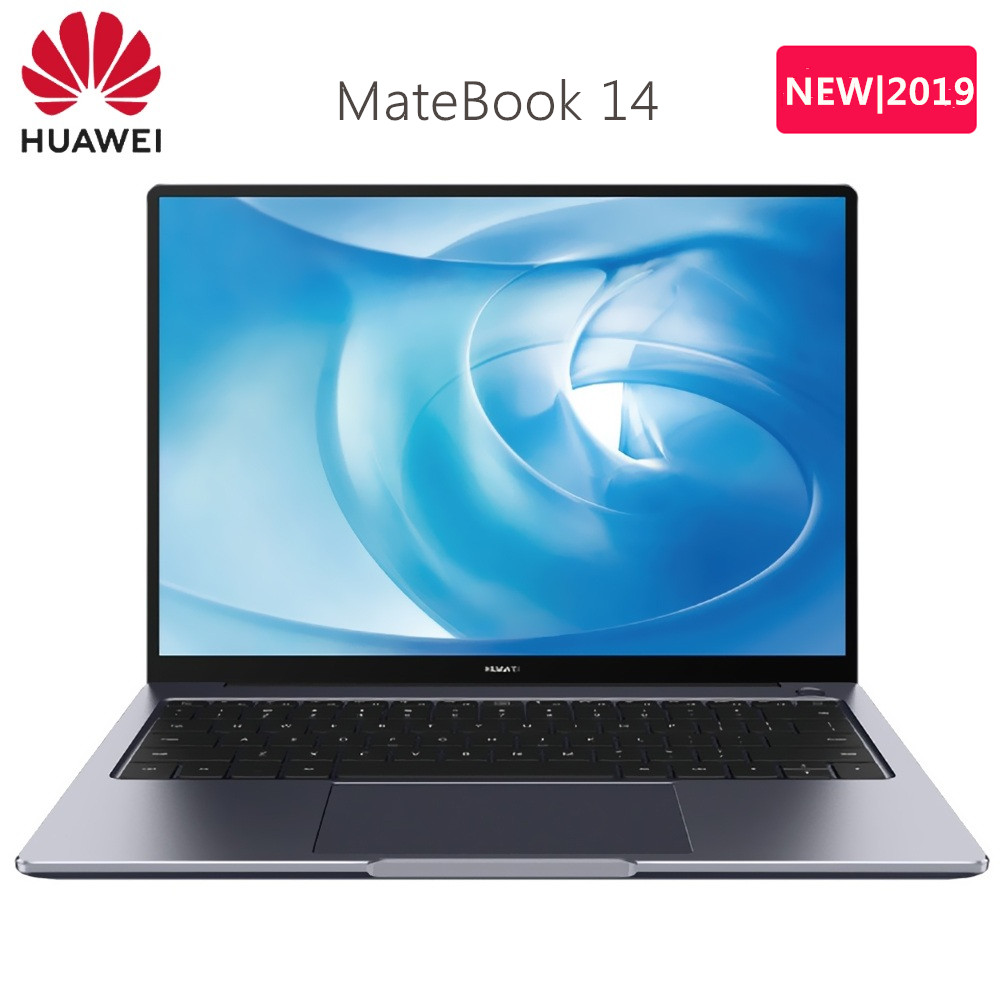 2019 HUAWEI MateBook 14 Laptop Windows 10 Home Intel Core I7-8565U / I5-8265U 8GB RAM 512GB SSD Fingerprint Notebook HDMI