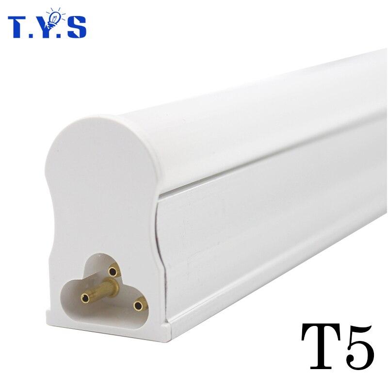 Светодиодный трубки T5 Light 600 мм светодиодный настенные лампы люминесцентные 10 Вт интегрированная холодной теплый белый AC165 ~ 265 В ампулы SMD 2835 ...