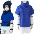 Free shipping  Naruto Uchiha Sasuke I  blue Anime clothing fuor pieces anime cosplay halloween costume