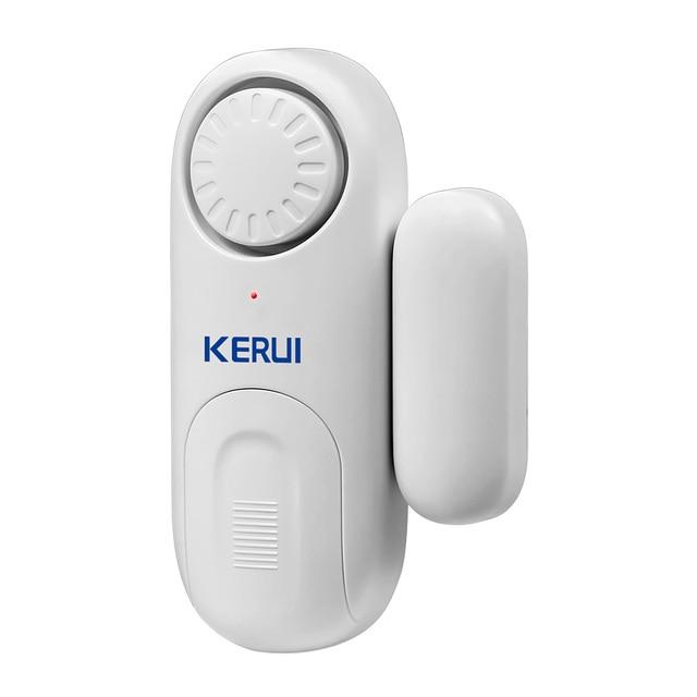 KERUI D1 אלחוטי קטן עצמאי דלת מגנטי עצמאי דלת/חלון חיישן אבטחת אזעקת הגנה מעורר
