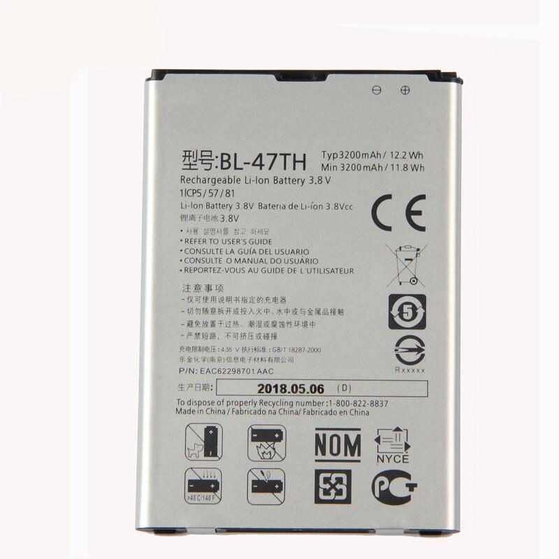 Original BL-47TH batería para LG Optimus G Pro 2 F350 F350K F350S F350L D837 D838 3200 mAh