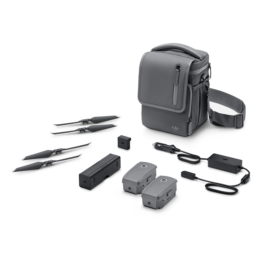 DJI Mavic 2 Fly More Kit include Car Charger Charging Hub Battery to Power Bank Adapter Low Noise Propellers Shoulder Bag-in Drone Boxes from Consumer Electronics    2