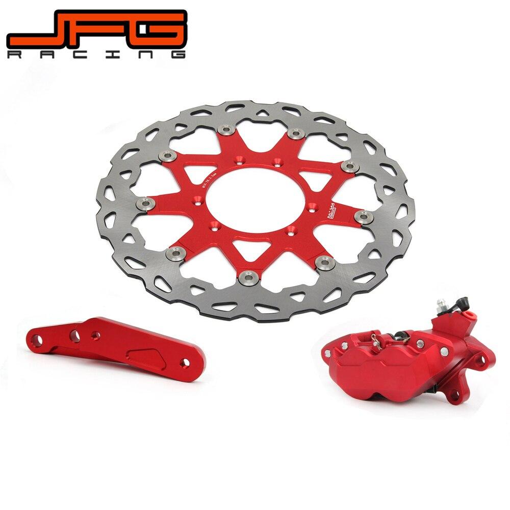 320mm floating brake disc with bracket refit left brake. Black Bedroom Furniture Sets. Home Design Ideas